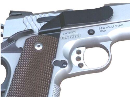 1911 COLT DEFENDER LIGHTWEIGHT CLIPDRAW Holster Belt Clip Conceal Carry #ROM-B