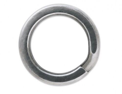 VMC SSSR-5 Stainless Steel Split Rings Size 5 Saltwater 198lb Test 6 pack