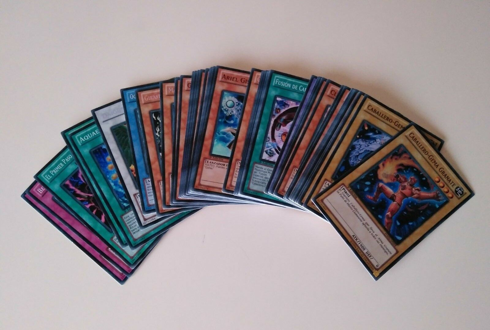Yugioh arsenal secreto 5 invasión de la horda de acero lote 45 cartas konami