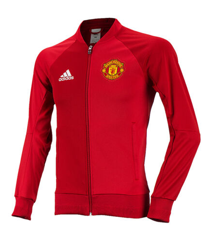 New Adidas Manchester United 16-17 Anthem Jacket Track Top Training Soccer Football  for sale
