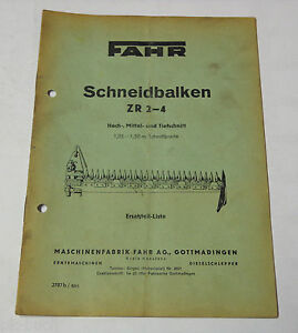 Agriculture/farming Other Tractor Publications Parts Catalog Drive Schneidbalken Zr 2-4 High Medium And Jigsaw Blades Downcut