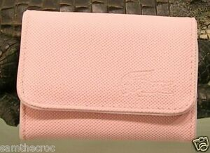 Purse White Card 4 Ladies Classic Petal Girls Lacoste Ebay Pink Coin WFI1xnqz