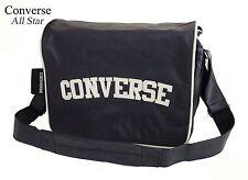 Messenger Bag by CONVERSE*Flap REPORTER black*College,Laptop,Schulter Tasche*NEU