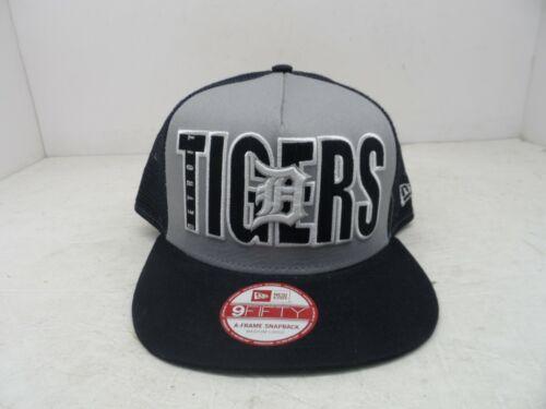 New Era Detroit Tigers Impact A Frame Snapback Hat Size Medium-Large