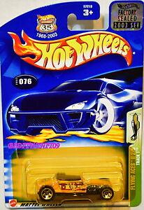 Hot-Wheels-2003-Volant-As-II-Track-T-076-Emballage-D-039-Origine