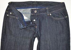 55e061ff5a NEW Sisley Regular Fit 02 Dark Blue Straight Jeans Size 46 (W32 ...