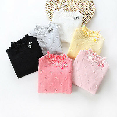 Autumn <b>Winter Warm Baby Girl</b> Kids Toddler Knite Sweater Pullover ...