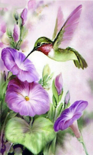Flowers Full Drill DIY 5D Diamond Painting Embroidery Mural Cross Stitch Kits