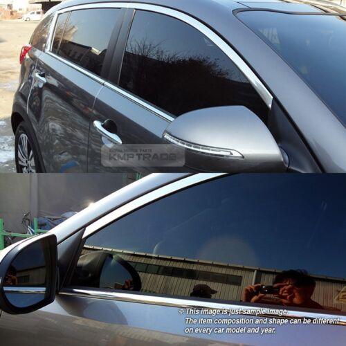 Stainless Steel Chrome Window Under Trim Molding 4P For CHEVROLET 2010-15 Spark