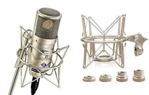 Shock-Mount-Microphone-Holder-Mic-Clip-For-Neumann-D-01-Premium-Quality