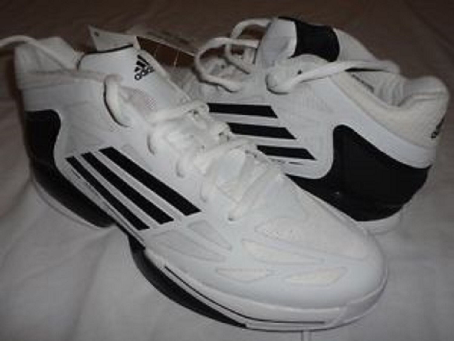 P New Adidas Q32698 SMU ADIZERO CRAZY LIGHT Basketball Shoes WHT/BLK Price reduction Comfortable and good-looking