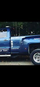 2016 Chevy SILVERADO 3500 DULLY DEISEL D&D WRECKER TOWTRUCK