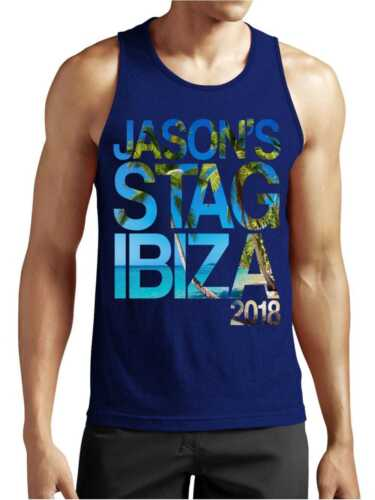 Island Personalised Stag Party Vest Top