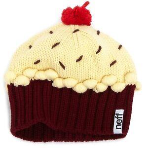 Neff-Cupcake-Beanie-red-violet-cappello-bambino
