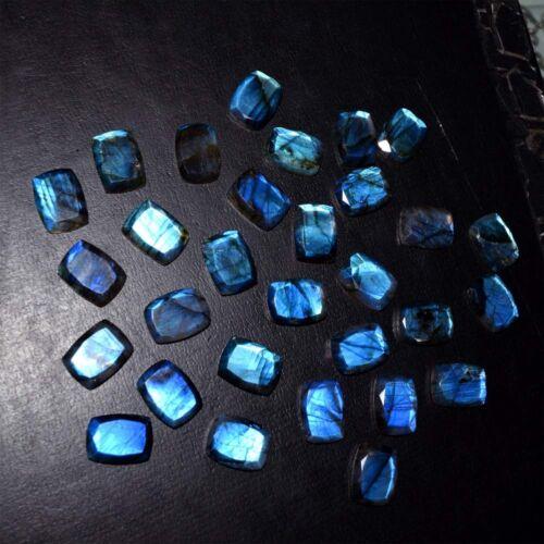 Details about  /Blue Fire Calibrated Labradorite 15X20 Cushion-Ocatgon Cut Loose GemStone Lot