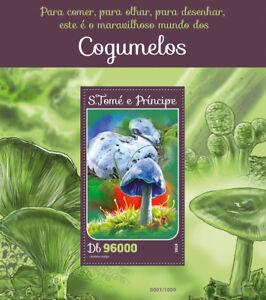 Image Is Loading Sao Tome Amp Principe 2016 Mnh Mushrooms 1v