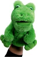 Musical Frog Puppet That Croaks 3 Songs While You Move Its Mouth