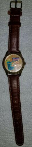 Années 1990 Fossil cuir véritable NBA watch RARE watch