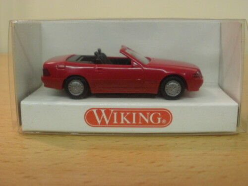 MERCEDES Benz 500 sl cabriolet, 1 87, wiking, OVP, 14201