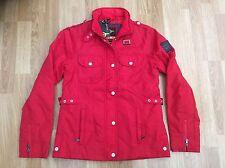 Chaqueta señoras LE BREVE Moda Estilo WILLOW Raven Rojo Tamaño S = tamaño 10