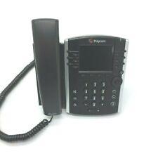 Polycom Vvx 400 2201 46104 001 Business Desktop Phone Poe Handset With Stand