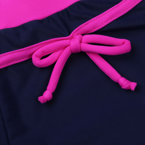 Girl Swimwear Floral Tankini Set Swimsuit Tank Top+Briefs//Shorts Beachwear 4-16Y