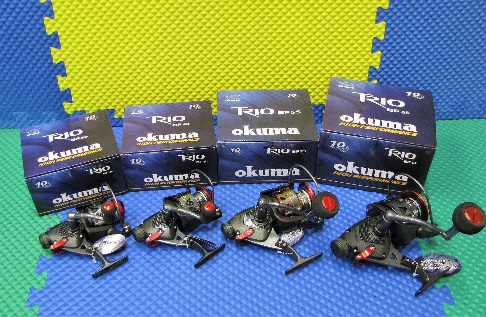 Okuma Trio Bait Feeder Spinning Reels BF Series CHOOSE YOUR MODEL