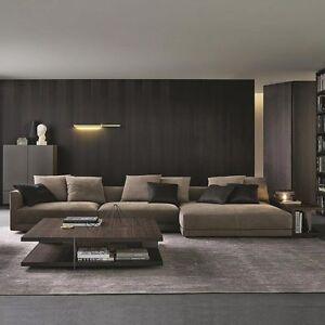 A Imagem Está Carregando Indoor Velvet Sectional Sofa Couch  Set Chaise Lounge