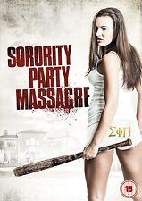 DVD:SORORITY PARTY MASSACRE - NEW Region 2 UK