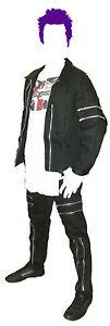 3xl Goth Skin Jacket Punk Black Zips L Xl New With Canvas S Bondage 2xl M xXZxq67Uw4