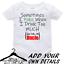 Personalised-Custom-BabyGrow-Vest-Bodysuit-Puke-Just-Like-Auntie-Uncle-Daddy-Mum thumbnail 6