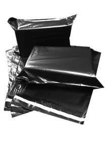 Strong Charcoal Mailing Post Poly Postage Bags Self Seal B Grade Clearance 4U