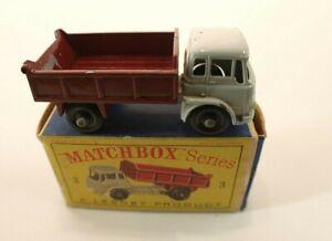 Matchbox-series-n-3-camion-Bedford-Tipper-Truck-en-boite