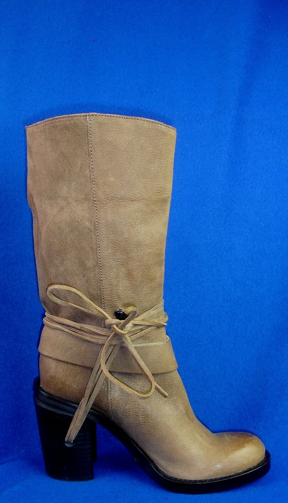 Vince Camuto Camuto Camuto damen Leather Taupe Stiefel SZ 6.5 Free Shipping 5be88e