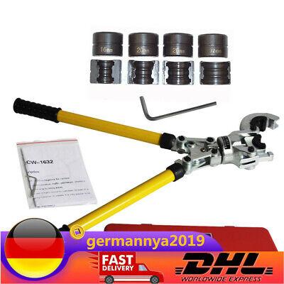 16-32mm Presszange TH-Kontur PEX Rohr Verbundrohr Rohrpresszange Pressbacken