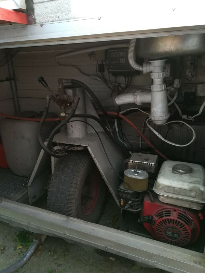 Pølsevogn, lastevne (kg): 800