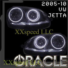 ORACLE VW Volkswagen Jetta 2005-2010 WHITE LED Headlight Halo Angel Eyes Kit