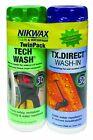 Nikwax Tech Wash  TX. Direct Duo Pack, New, Free Shipping