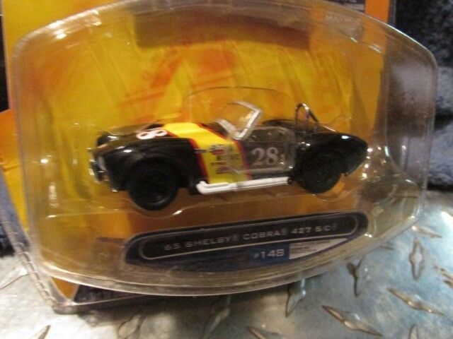 65 65 65 Shelby Cobra 427 S C Negro Big Time Muscle Jada Dub Ciudad 1 64th 2007 Wave c57762