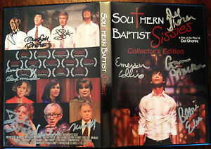 SOUTHERN-BAPTIST-SISSIES-COLLECTOR-039-S-EDITION-DVD-signed-by-ENTIRE-FILM-CAST