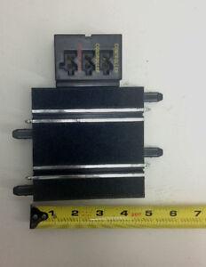 SCX 1//43 Compact Slot Car Set Terminal AC Track Piece 4.5 inches SCX5824T
