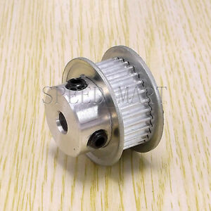 3M Timing Pulley 25T 6.35mm Bore for Stepper Motor 3D Printer 11mm Width HTD