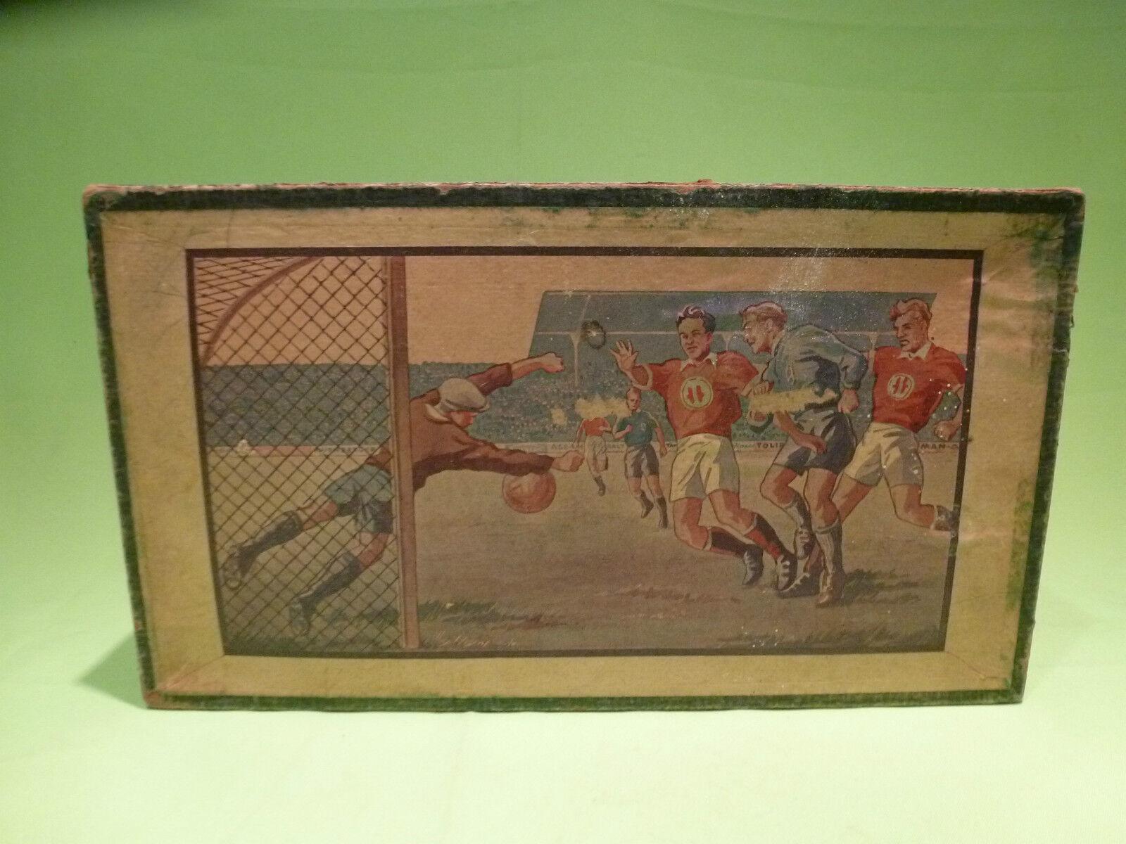 VINTAGE - GERMAN -  FOOTBALL SOCCER GAME - 1920 30's 40's - GOOD - ORIGINAL BOX