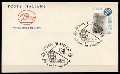 Besorgt Fotografie 1896-1942 Fdc Tina Modotti Italien 1978 Perfekte Verarbeitung