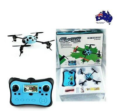 Quad Copter Drone 2.4G 4CH Channel RC Remote control 3D lady beetle beginner