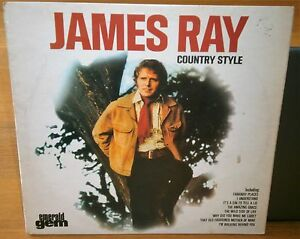 JAMES-RAY-COUNTRY-STYLE-GES-1105-1974-EMERALD-GREEN-RECORDS-VINYL-LP-ALBUM