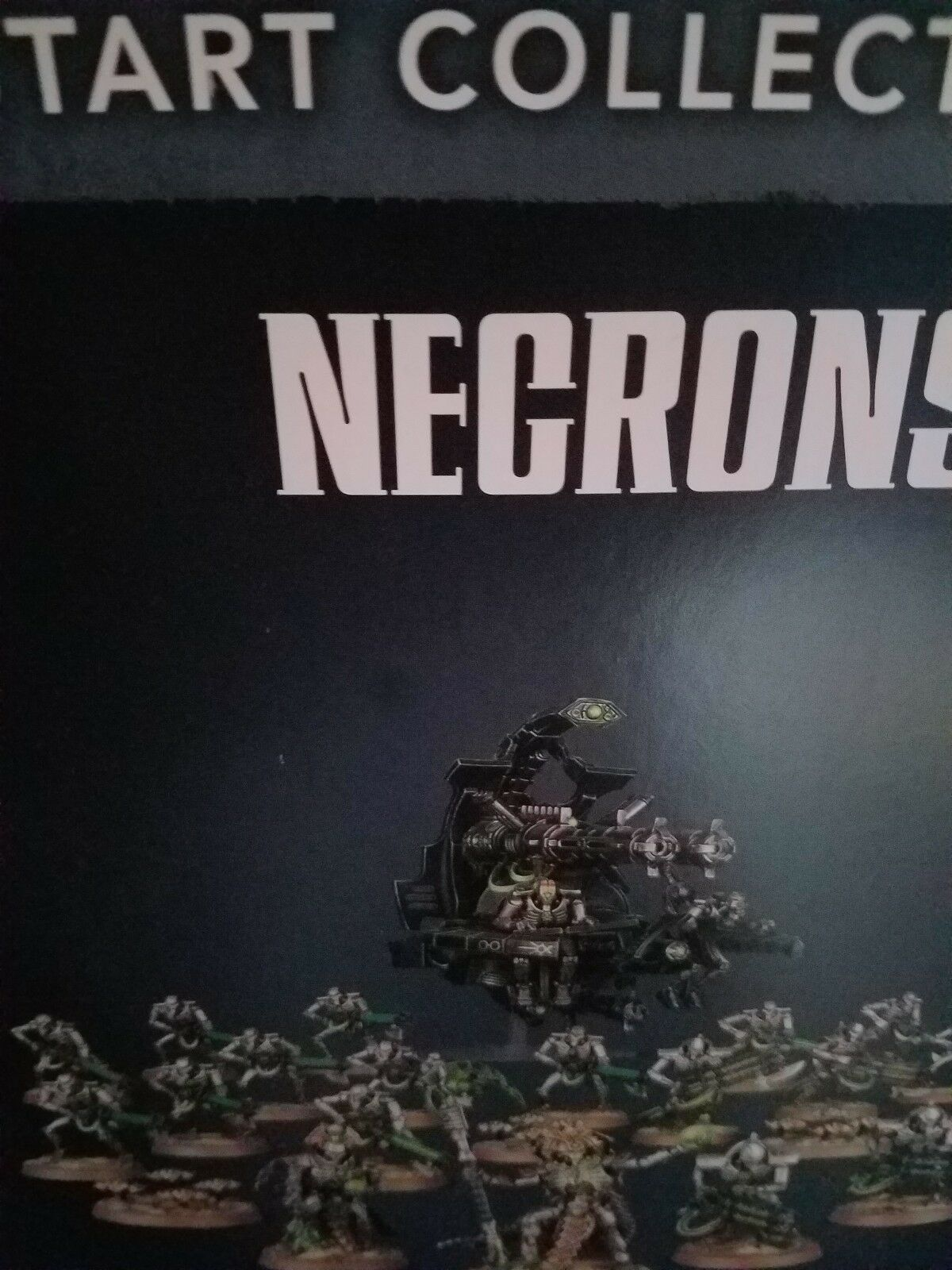 Start Collecting Necrons Warhammer 40k 40,000 Games Workhop New!