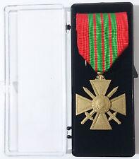 Médaille Ordonnance CROIX DE GUERRE 39/45 SECONDE 2°Guerre Mondiale 1939-1945