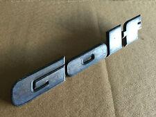VW GOLF MK2 LATE TYPE 90 SPEC REAR BOOT BADGE EMBLEM 191853687J   /3