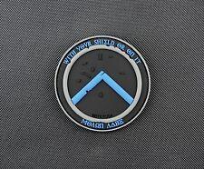 Thin Blue Line Molon Labe Shield 3D PVC Morale Patch VELCRO® Brand Police TBL